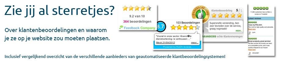 Het belang en gebruik van klantbeoordelingen op je website
