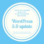 WordPress Update naar v.5.0