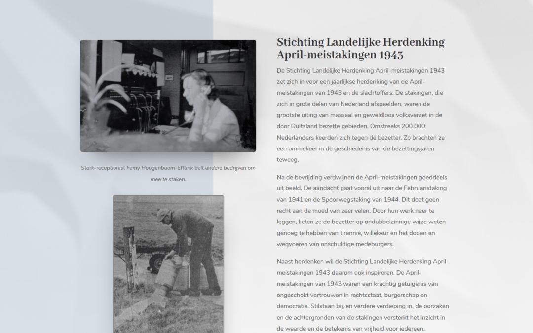 Stichting Herdenking april-mei 1943 stakingen